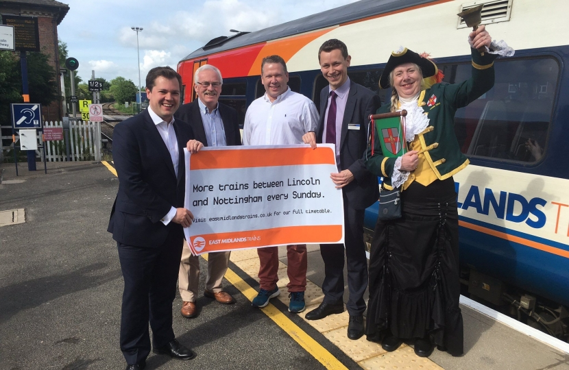 Celebrating the new EM Trains Service